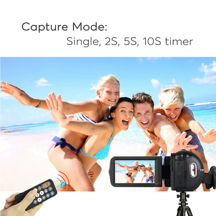 Ordo Z8 PLUS Digital Video Camera - 24MP, 1080p, 16x Digital Zoom, 1/4 Inch 8MP CMOS Sensor, Anti Shake, 64GB External Memory