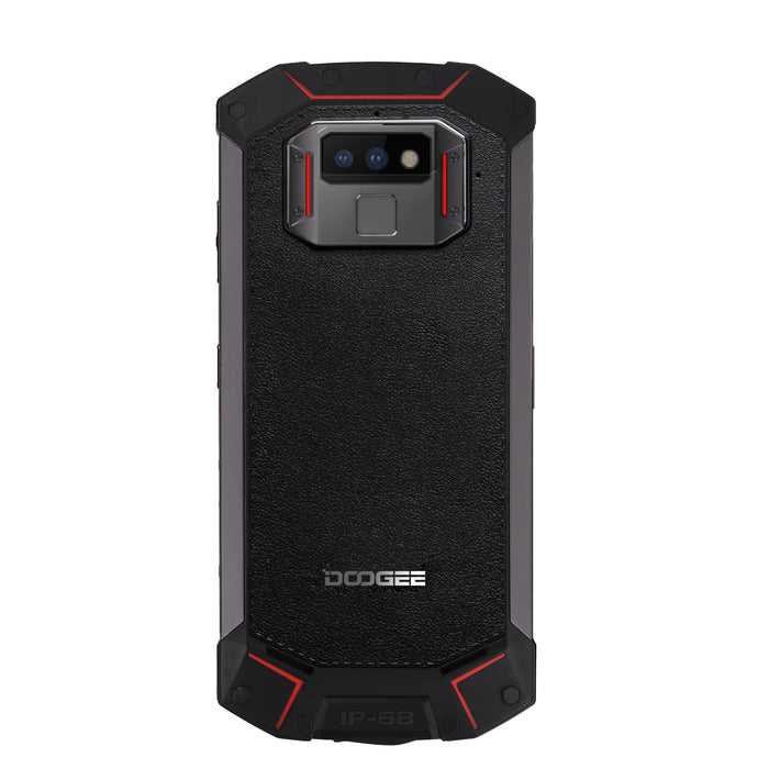 Red DOOGEE S70 Lite IP68/IP69K Waterproof Mobile Phone Wireless Charge NFC 5500mAh 12V2A Quick Charge 5.99-Inch MTK P23
