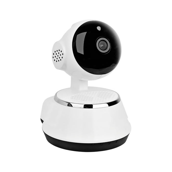 Wireless IP Camera - 1/4-Inch HD CMOS, 720p, SD Card Recording, App Support, Night Vision, IR Cut, Motion Detection, WiFi, PTZ