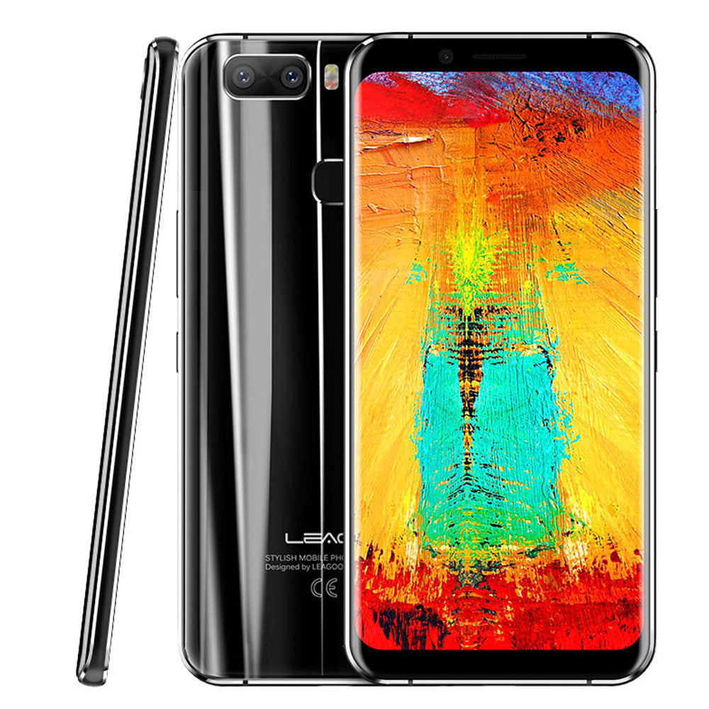 Leagoo S8 PRO 5.99 Inch 6GB RAM + 64GB ROM Smart Phone Black