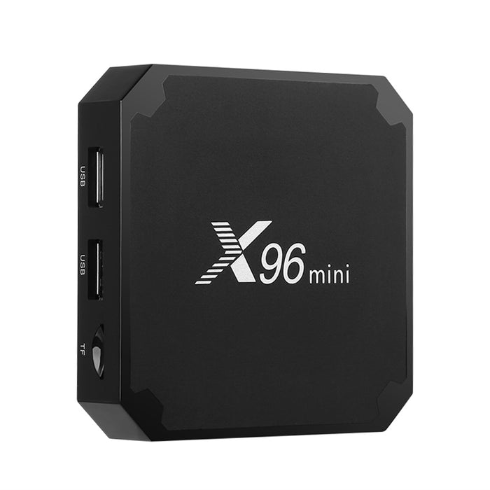 X96 Mini TV Box - 4K Support, 3D Games, 3D Movies, WiFi Support, Google Play, Kodi 17.0, Quad-Core CPU, Android 7.1, DLNA