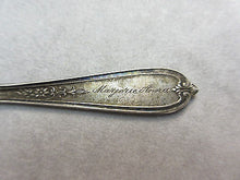 ANTIQUE LITTLE MISS MUFFETT  NURSERY RHYME STERLING SILVER BABY CHILD FORK