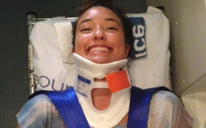 THIS ONE TIME AT CROSSFIT, I FELL AND BROKE MY NECK