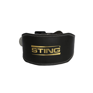 ECO LEATHER LIFTING BELT 6INCH - Sting Sports Australia