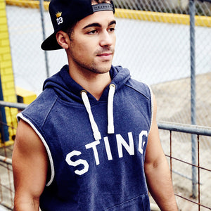 PURE CUT SLEEVE HOODIE - Sting Sports Australia