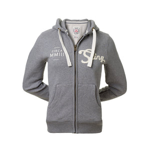 PURE CLASSIC HOODIE - Light Grey - Sting Sports Australia