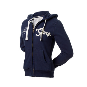 PURE CLASSIC HOODIE - Navy Blue - Sting Sports Australia