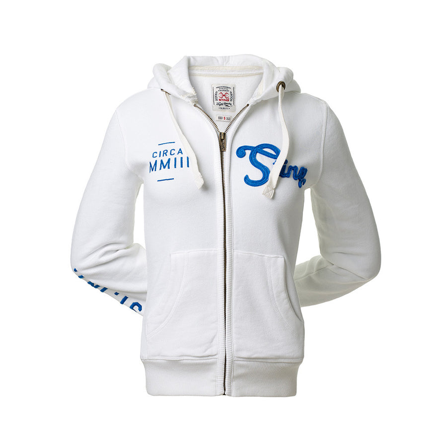 PURE CLASSIC HOODIE - White - Sting Sports Australia