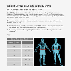 NEO LIFTING BELT 6 INCH - Sting Sports Australia