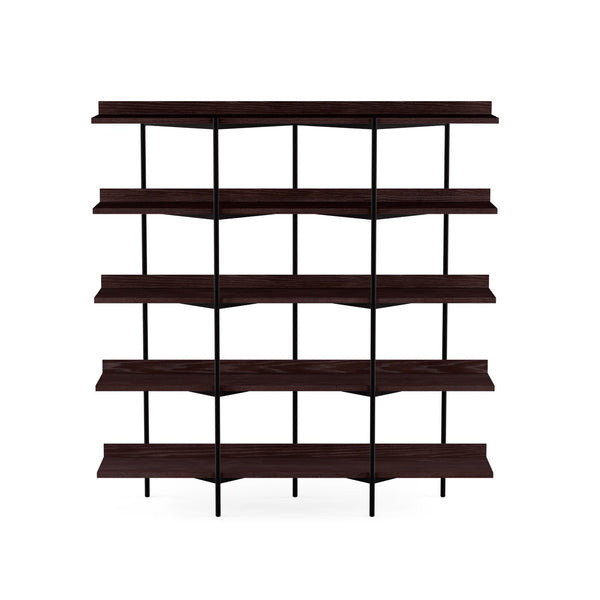 Kite 5305 Bookshelf | Charcoal Stained Ash