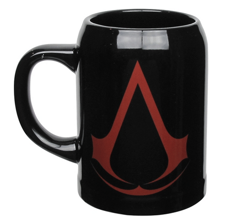 Assassin's Creed Black Logo Beer Stein