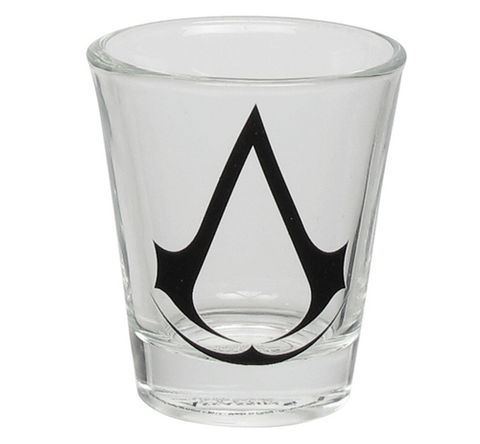 Assassin's Creed Crest Logo Shot Glass