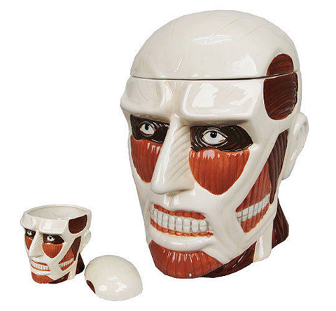 Attack on Titan Collossal Lidded Jar