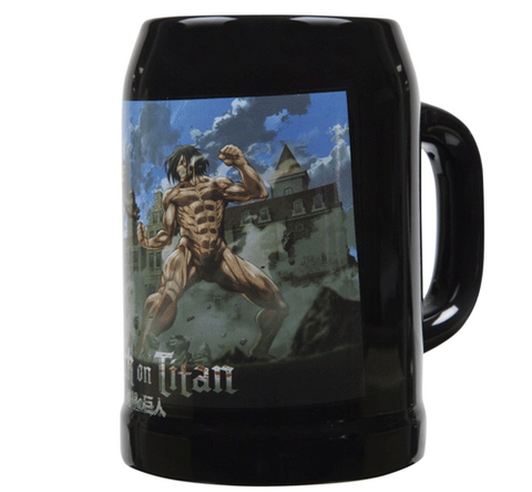 Attack on Titan 25 oz. Beer Stein - Eren Yeager