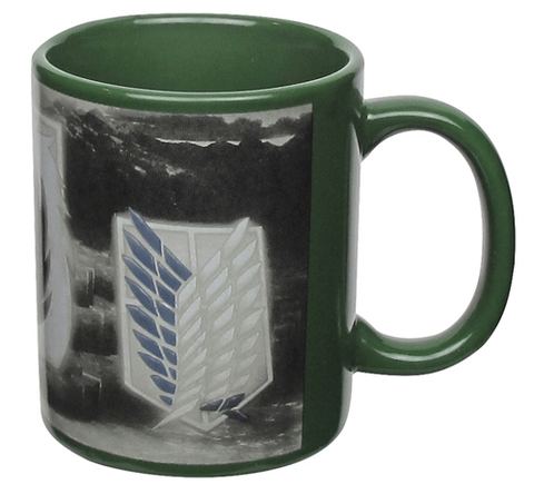 "Attack on Titan ""Badges"" Coffee Mug"