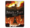 Attack On Titan Poster Fleece Blanket