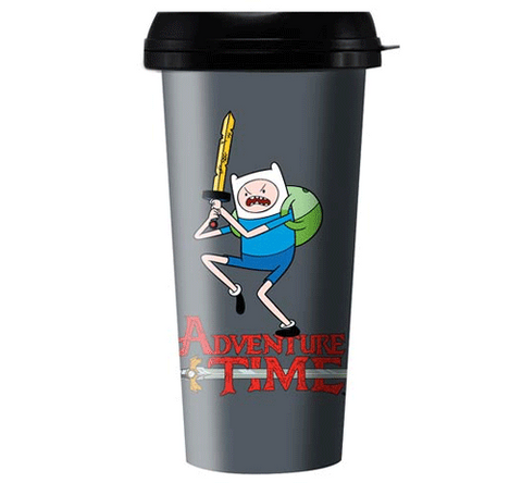 Adventure Time Finn Travel Mug