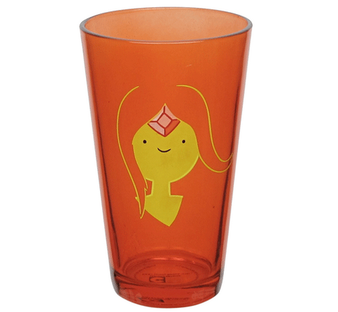 Adventure Time Flame Princess Pint Glass