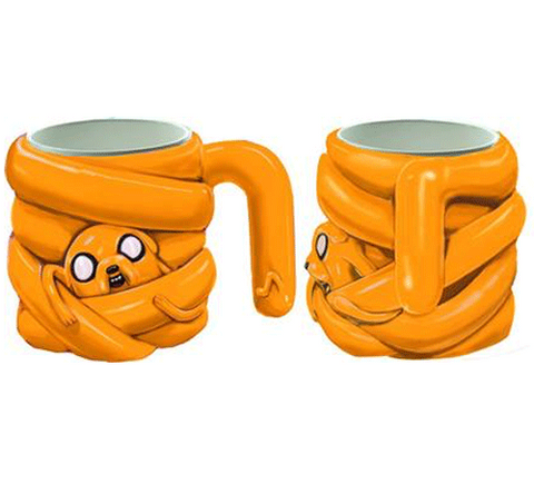 Adventure Time Jake Stretch Molded Mug
