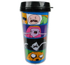 Adventure Time Angry Character Faces Travel Mug