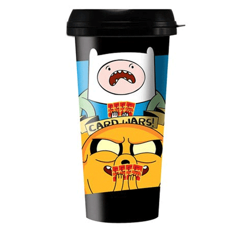 Adventure Time Card Wars Travel Mug