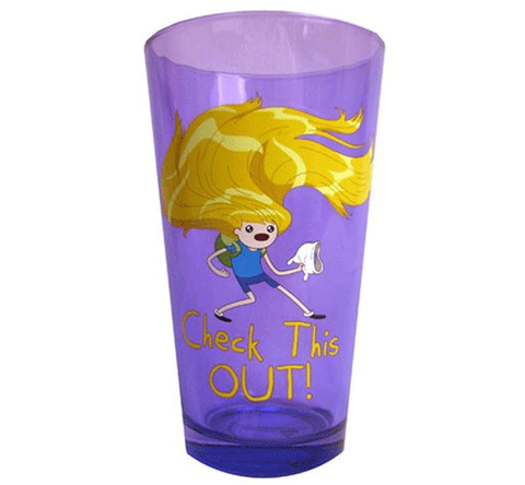 Adventure Time Finn Hair 16 oz. Pint Glass
