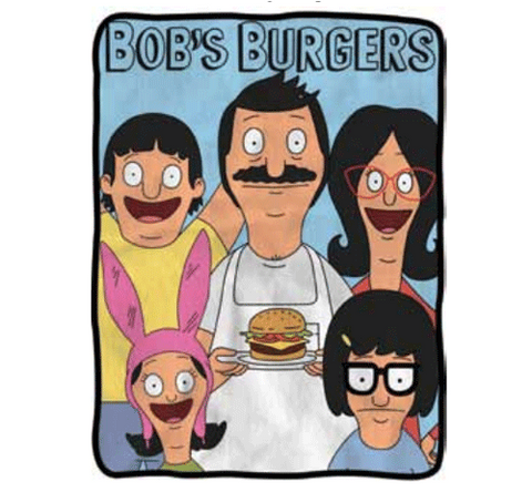 Bob's Burgers Belcher Family Fleece Blanket