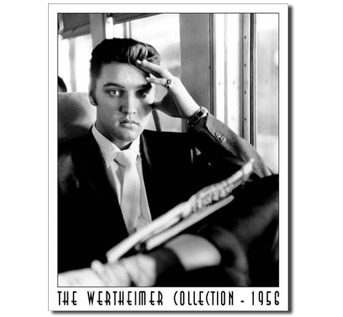 Elvis Home - Wertheimer Collection Tin Sign