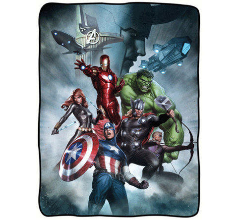 Avengers/Loki Fleece Blanket