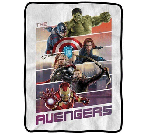 Avengers Movie Fleece Blanket