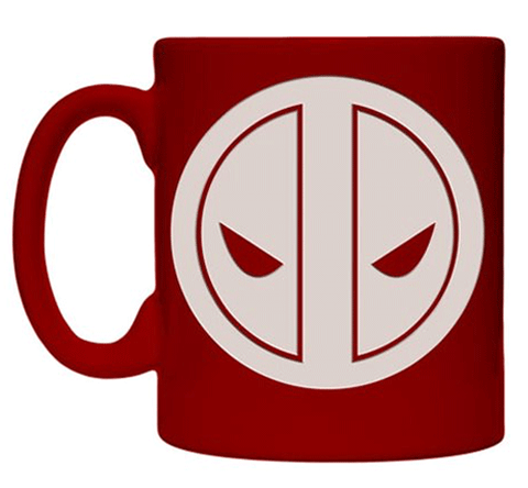 Engraved Deadpool 11 oz Stoneware Coffee Mug