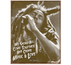 Bob Marley - Music & Love Tin Sign