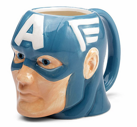 Captain America 16 oz Molded Mug