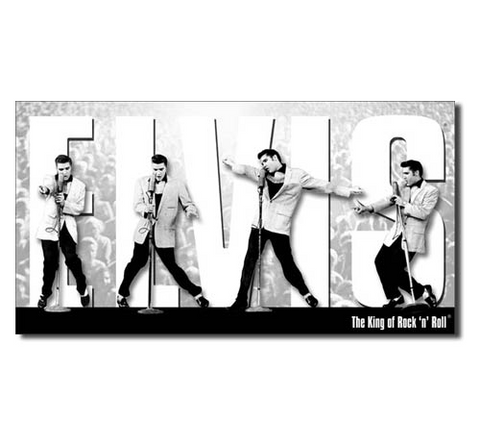 Elvis Presley Montage Tin Sign