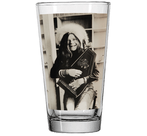 Janis Joplin 16 oz. Pint Glass