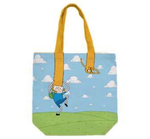 Adventure Time Jake and Finn Tote Bag