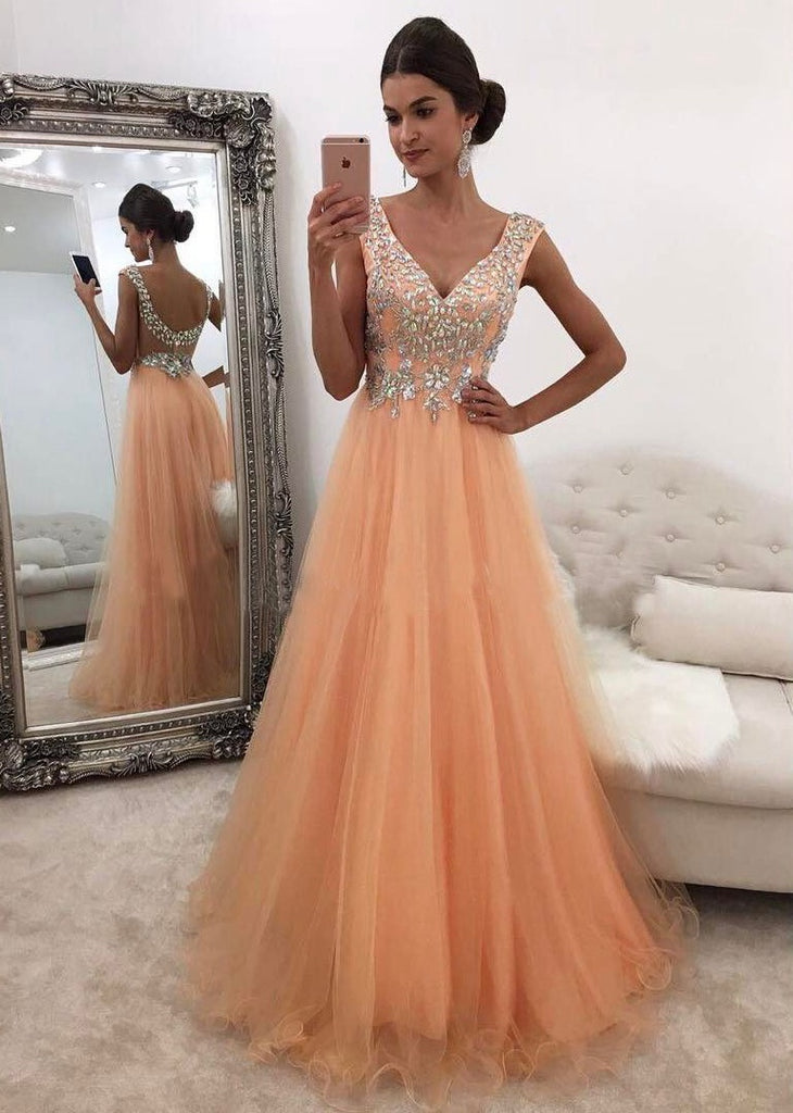 2a85bca9eeb 2018 Prom Dress with Shinning