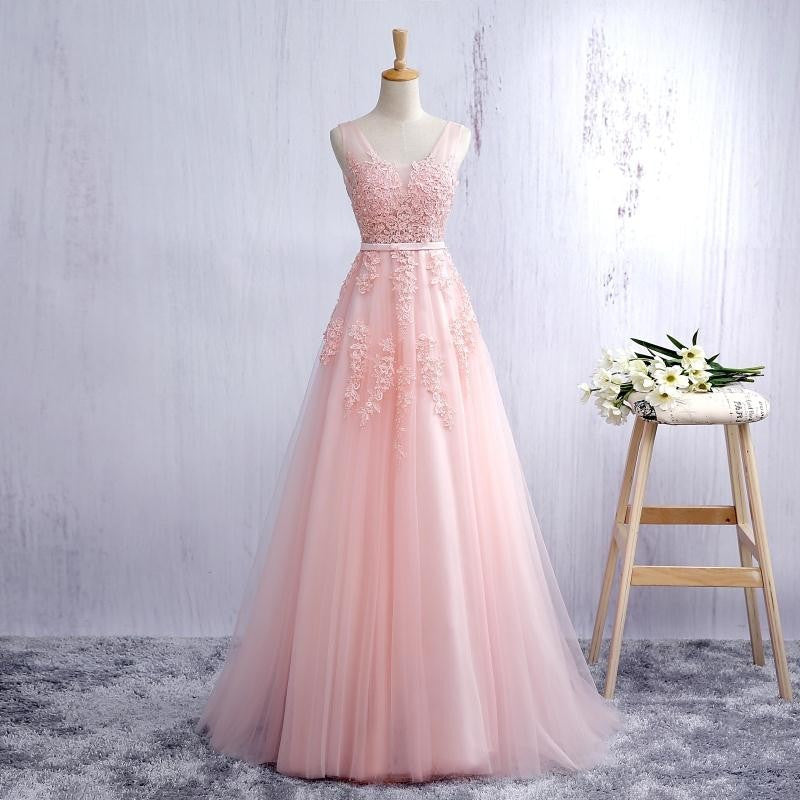 Pink Prom Dress, Prom Dresses, Graduation Party Dresses, Formal ...