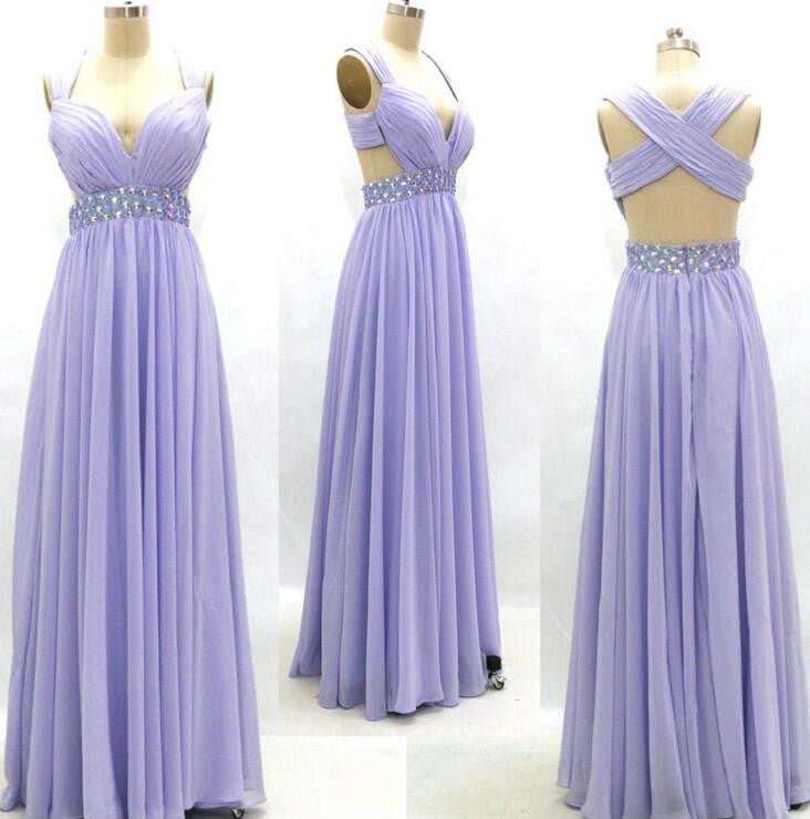Sexy Lilac Prom Dress, Graduation Party Dresses, Formal Dress For ...