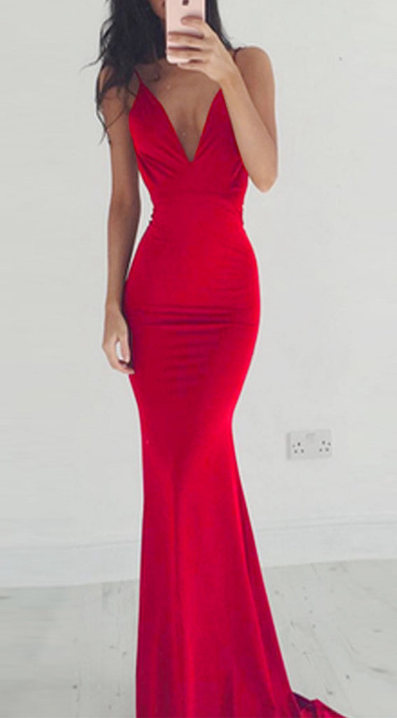 Red Sexy Prom Dress Long  f441983d2
