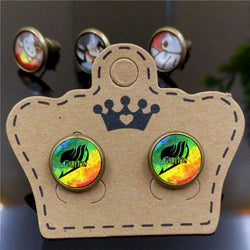 Fairy Tail | Stud Earrings | Eyeball Alloy