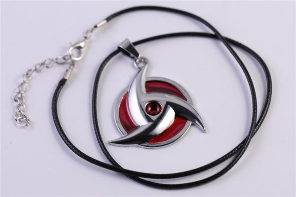 Naruto | Necklace | Red Shuriken Style