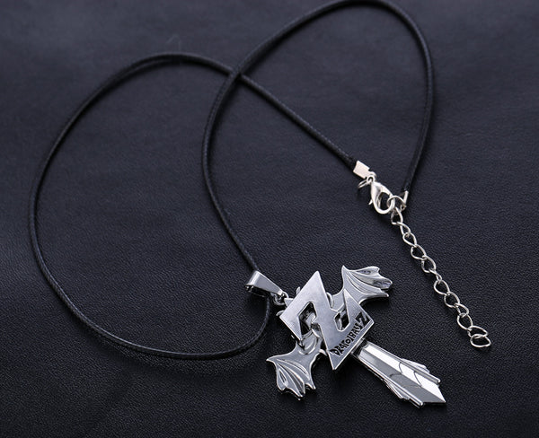 Dragon Ball Z | Necklace | Rotatable Sword with Wings Style