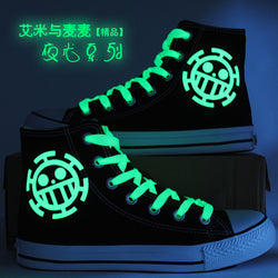 One Piece Shoes, Luminous Colors, Casual Style