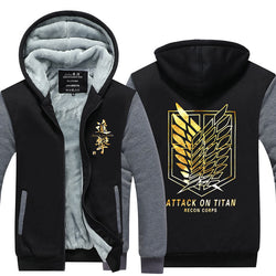 Attack on Titan | Hoodie | Comfortable and Extra Warm with Luminous Colors 16 Styles