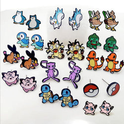 Pokemon | Stud Earrings | Variety of Pokemon Monsters 13 Styles