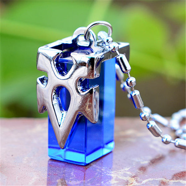 New Sword Art Online | Blue Metastasis Crystal Necklace | Kirito/Asuna/Yuki