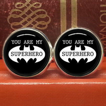 Batman Movie Earrings Love Style