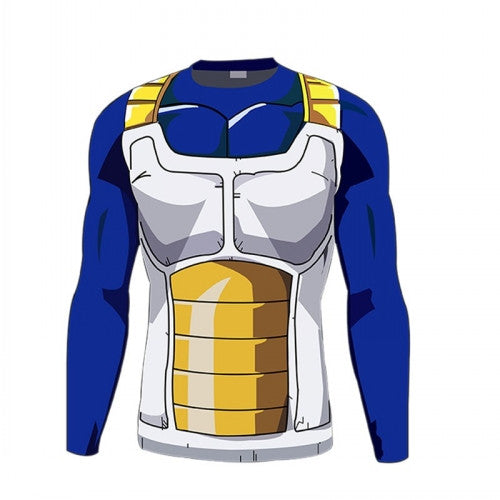 Dragon Ball Z | T-shirt | Super Saiyan Compression - Long Sleeve 20 Styles