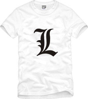 Death Note | T-shirt | L. Lawliet 6 Styles